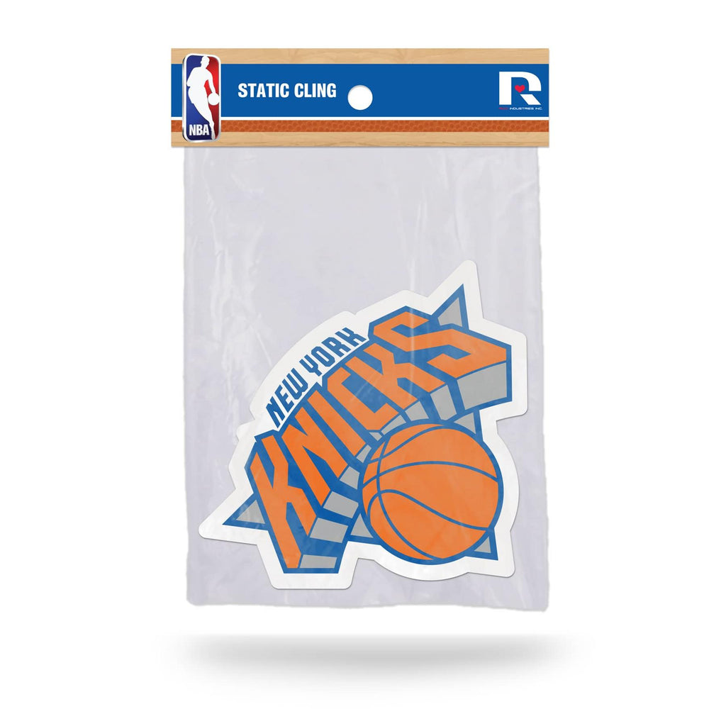 new style d23b6 661fd Rico NBA New York Knicks Shape Cut Static Cling Auto Decal Car Sticker  Medium SSCM