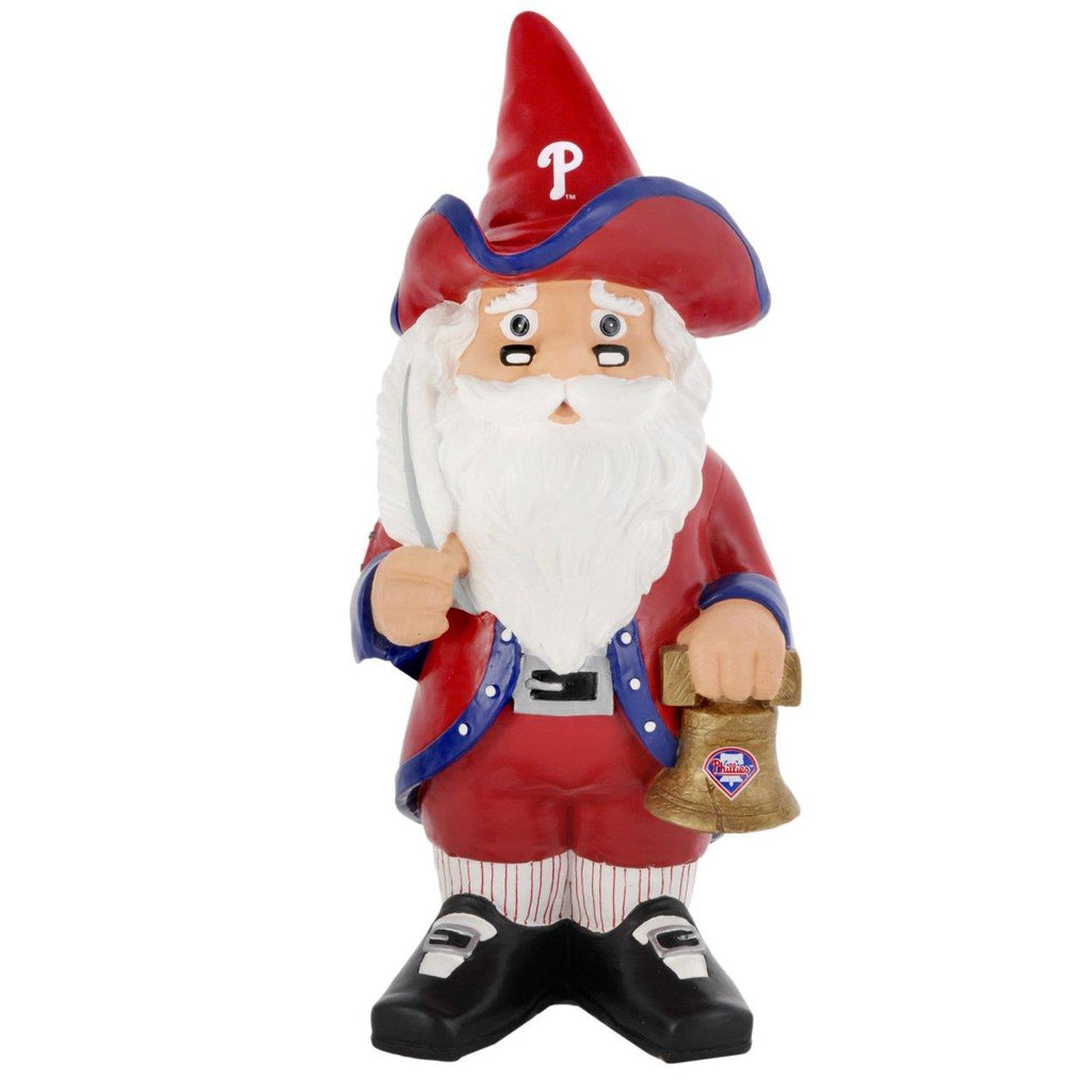 Forever Collectibles MLB Philadelphia Phillies Thematic Garden Gnome 11-Inch