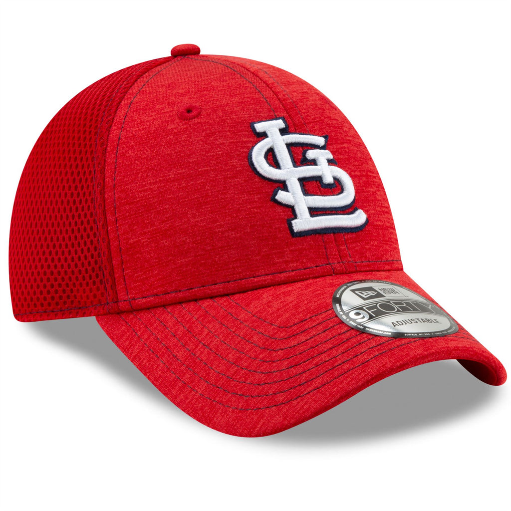 New Era MLB Men's St Louis Cardinals NE Team Tread 9FORTY Adjustable Hat