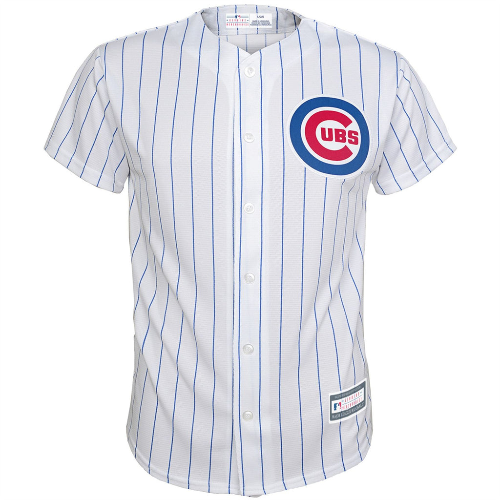 Majestic MLB Youth Chicago Cubs Home Replica Jersey White