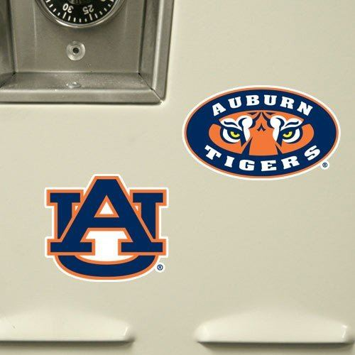 Team Stencils NCAA Auburn Tigers 10-Pack Stik-able Party Decals