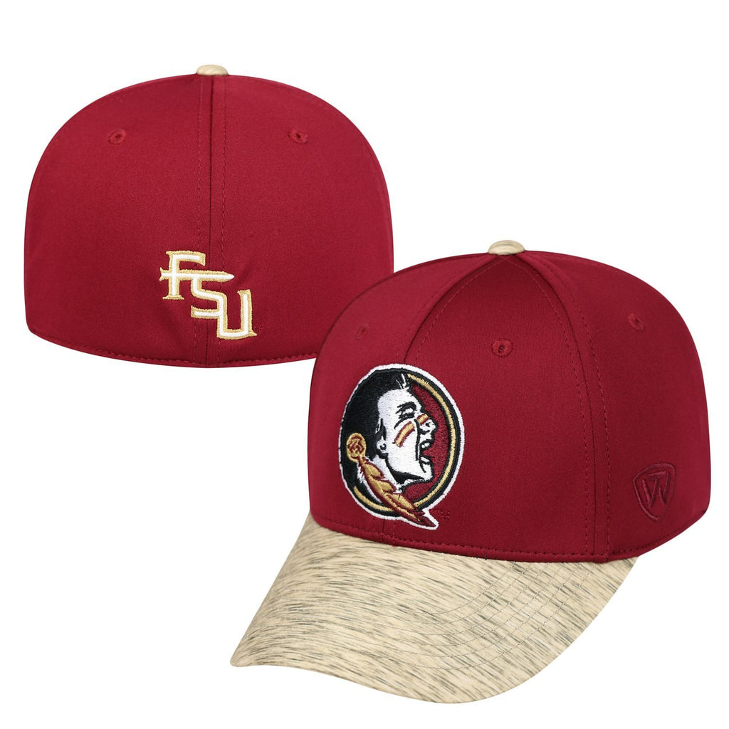 Top Of The World NCAA Men's Florida State Seminoles Lightspeed Stretch Hat One Fit