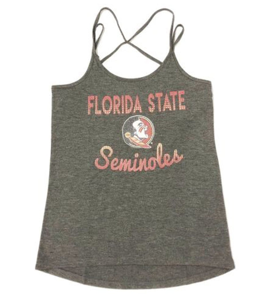 Colosseum NCAA Women's Florida State Seminoles Hitter Double Strap Tank Top