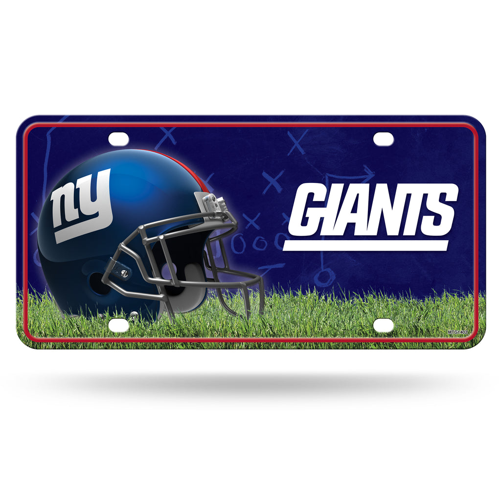 Rico NFL New York Giants Auto Metal Tag Car License Plate MTG