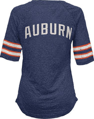 Pressbox NCAA Women's Auburn Tigers Jada V-Neck T-Shirt