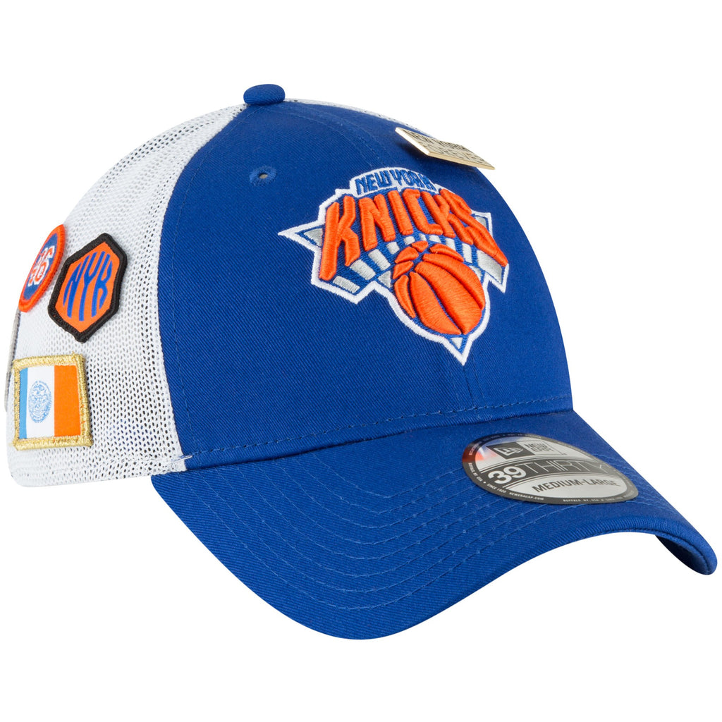 New Era NBA Men s New York Knicks 2018 NBA Draft Hat 39THIRTY Flex Fit Hat 7aab56aaf