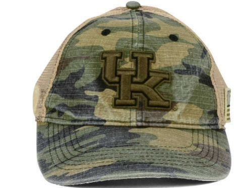 Top Of The World NCAA Men's Kentucky Wildcats Declare Hat Camo Adjustable