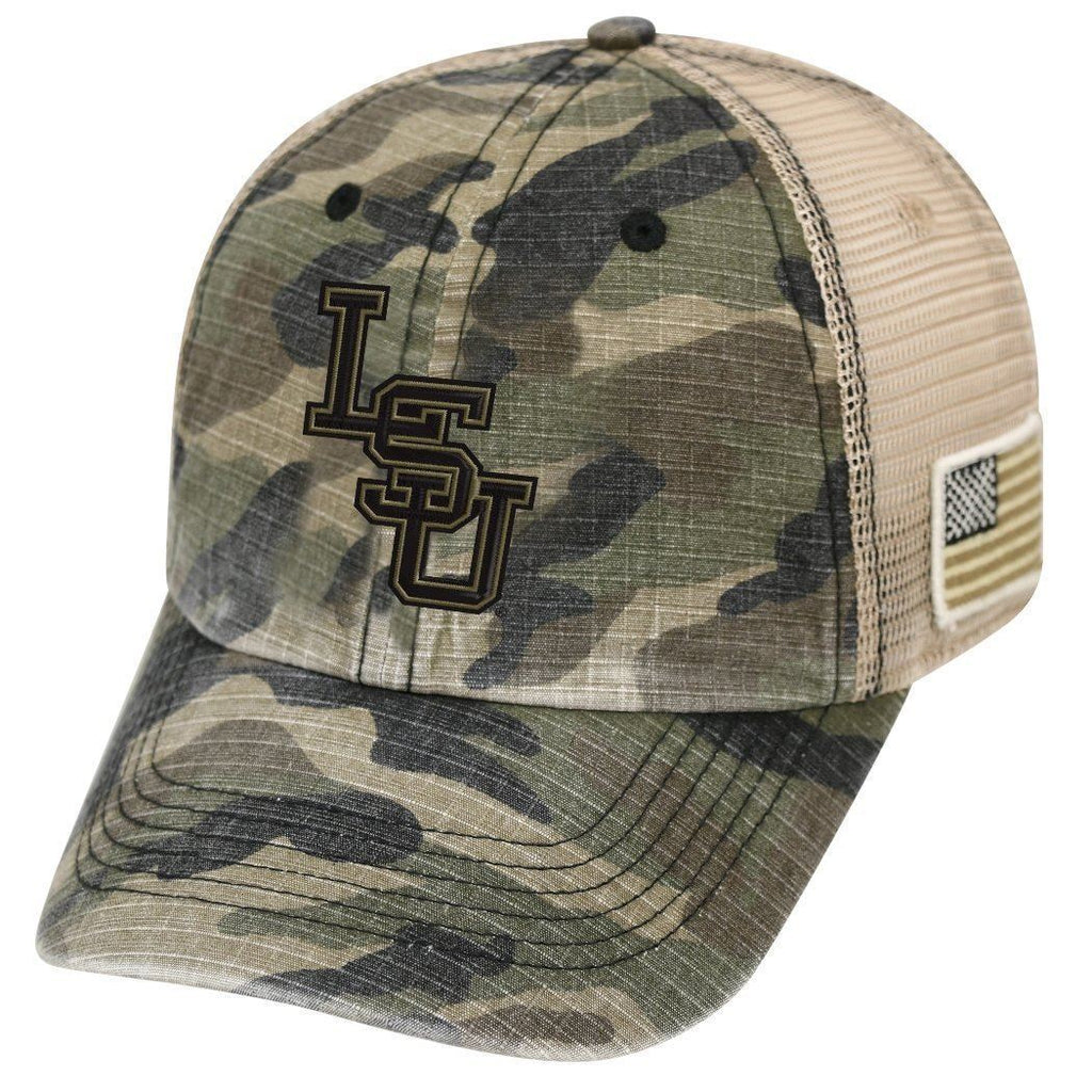 Top Of The World NCAA Men's LSU Tigers Declare Hat Camo Adjustable