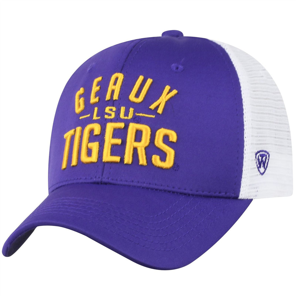 Top Of The World NCAA LSU Tigers Trainer Mesh Hat