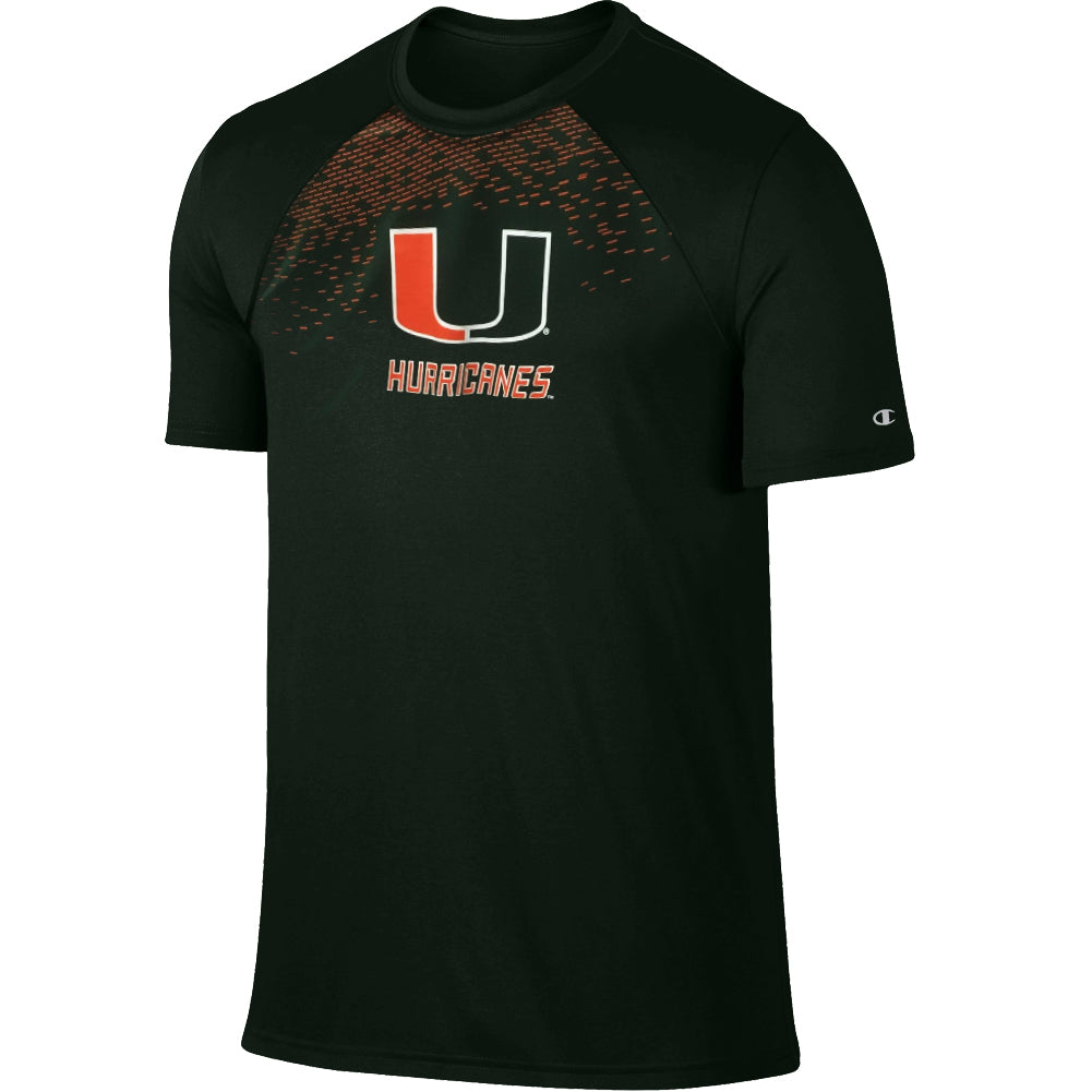Champion NCAA Men's Miami Hurricanes Training T-Shirt