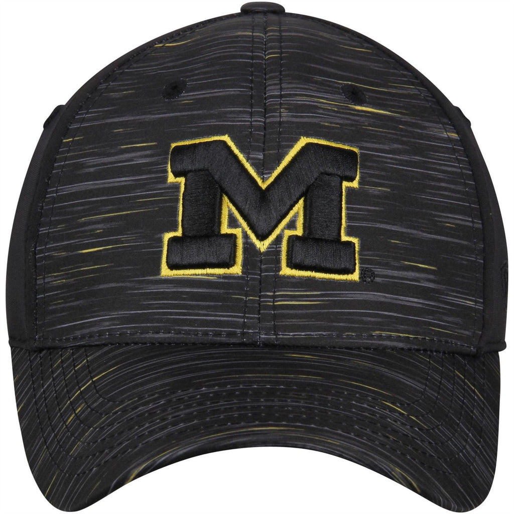 Top Of The World NCAA Michigan Wolverines Men's Obsidian Memory Stretch Hat