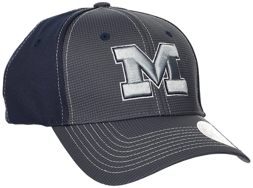 Zephyr NCAA Men's Michigan Wolverines Grid M Cap