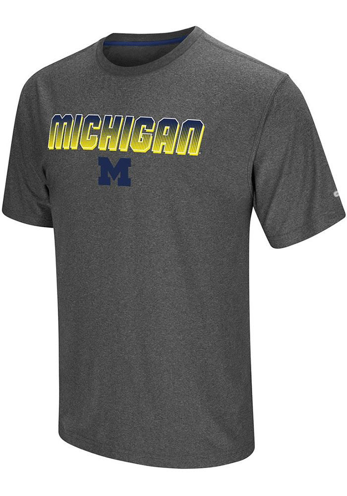 Colosseum NCAA Men's Michigan Wolverines Sleeper T-Shirt