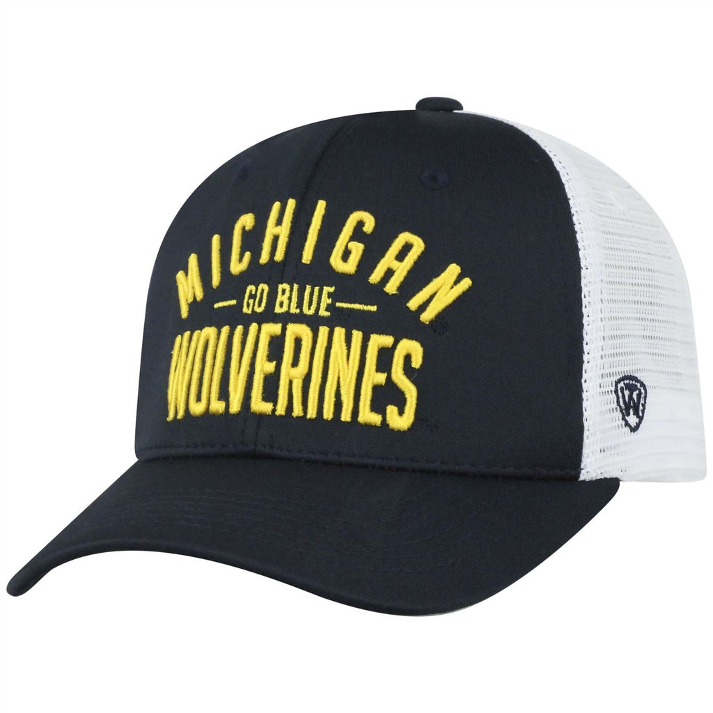 Top Of The World NCAA Michigan Wolverines Trainer Mesh Hat