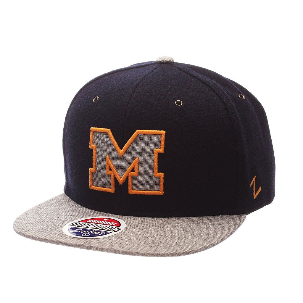 Zephyr NCAA Michigan Wolverines Executive Snapback Ajustable  Hat