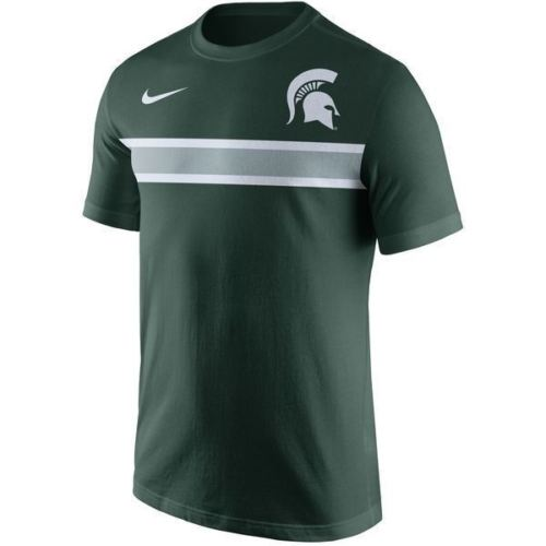 Nike NCAA Men's Michigan State Spartans Team Stripe T-Shirt