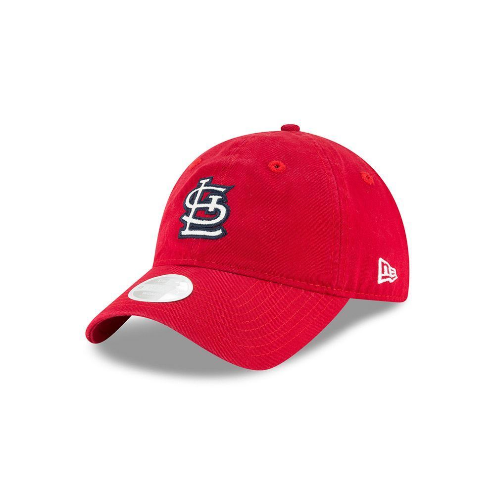 New Era MLB Women's St. Louis Cardinals Team Glisten 9TWENTY Adjustable Hat