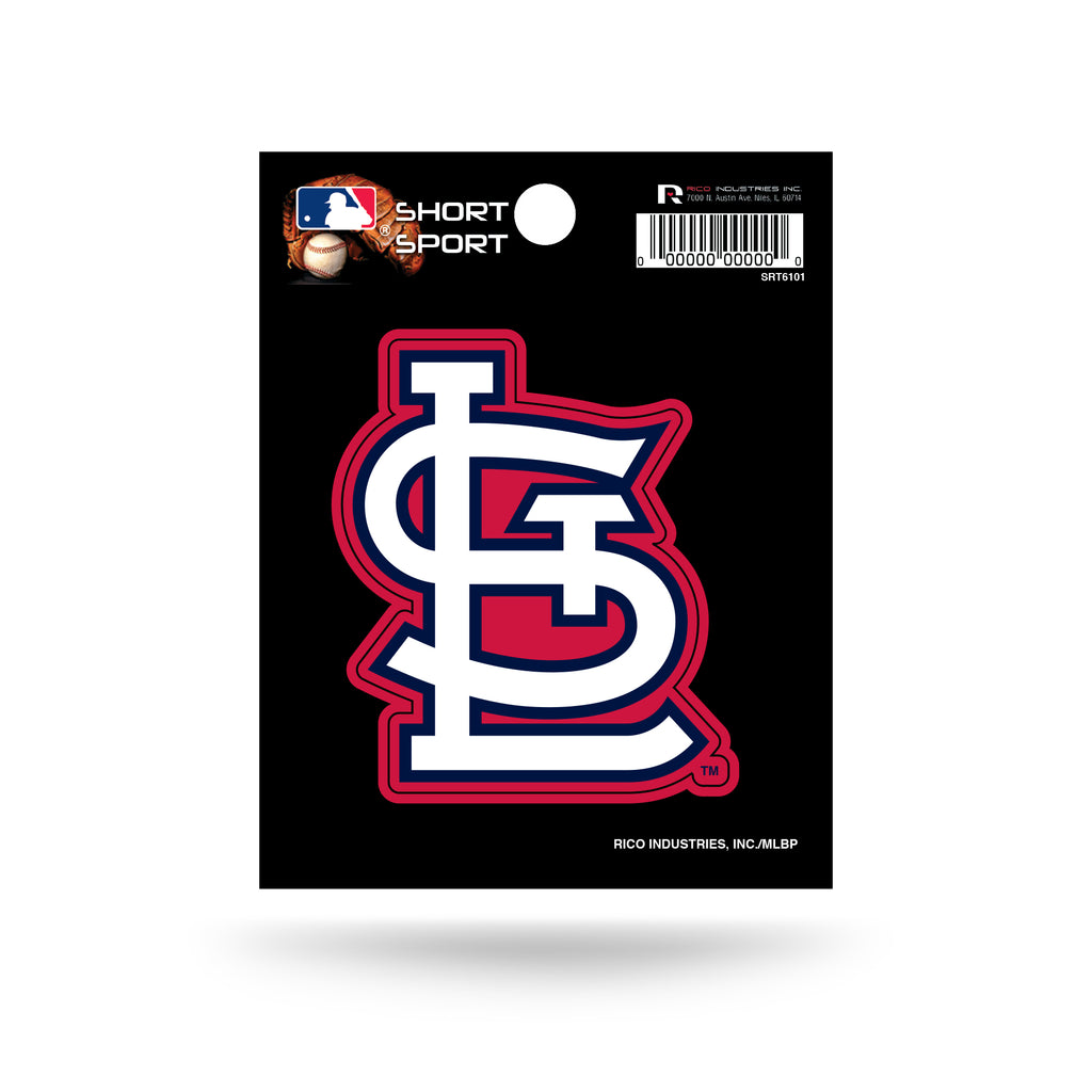 Rico MLB St. Louis Cardinals Die Cut Auto Decal Car Sticker Small SRT