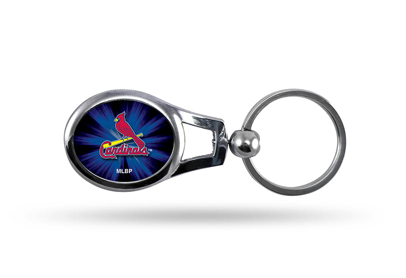 Rico MLB St Louis Cardinals Oval Key Chain