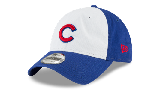 New Era MLB Men s Chicago Cubs Core Classic 9TWENTY Adjustable Hat ... ee9b9408b11