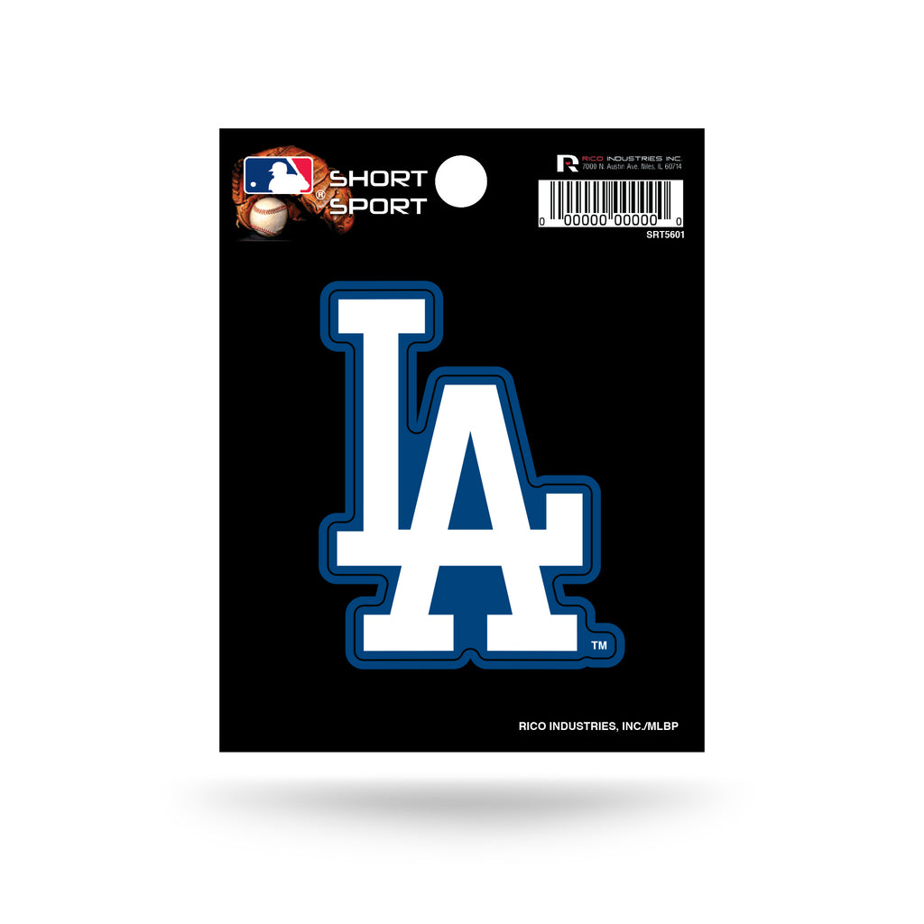 Rico MLB Los Angeles Dodgers Die Cut Auto Decal Car Sticker Small SRT