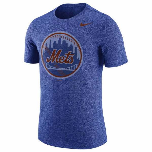 Nike MLB Men's New York Mets Marled T-Shirt