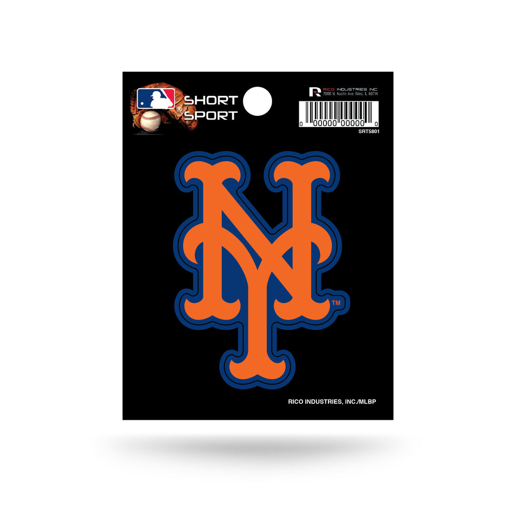 Rico MLB New York Mets Die Cut Auto Decal Car Sticker Small SRT