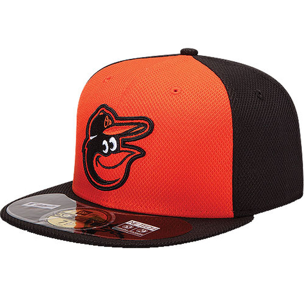 new style f12ff 20ae8 New Era MLB Men s Baltimore Orioles Diamond Era 59FIFTY Fitted Hat