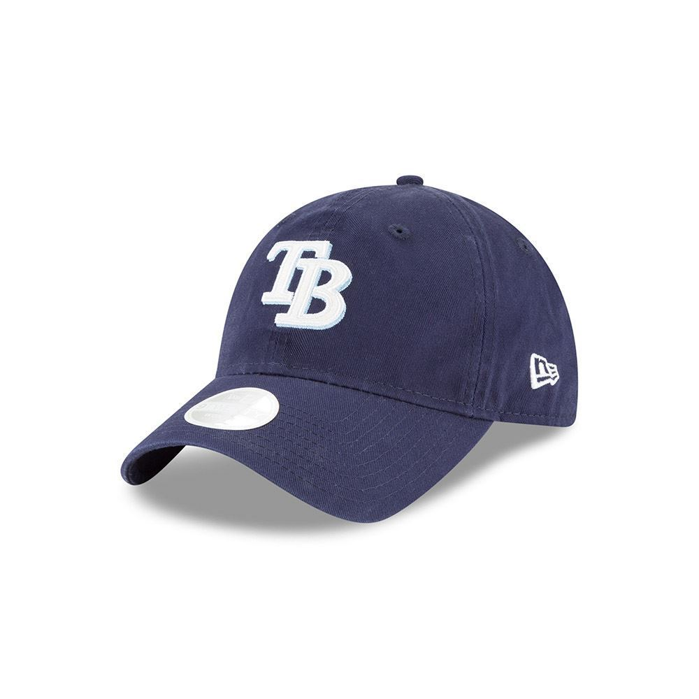 New Era MLB Women's Tampa Bay Rays Team Glisten 9TWENTY Adjustable Hat