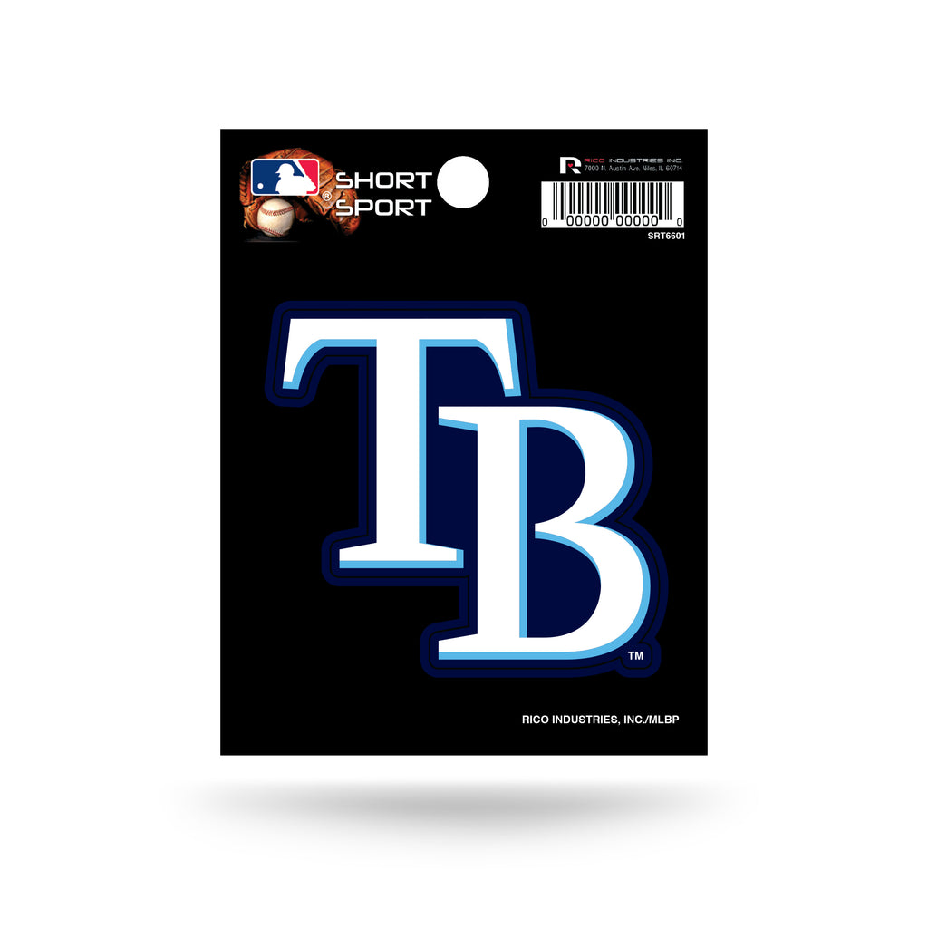 Rico MLB Tampa Bay Rays Die Cut Auto Decal Car Sticker Small SRT
