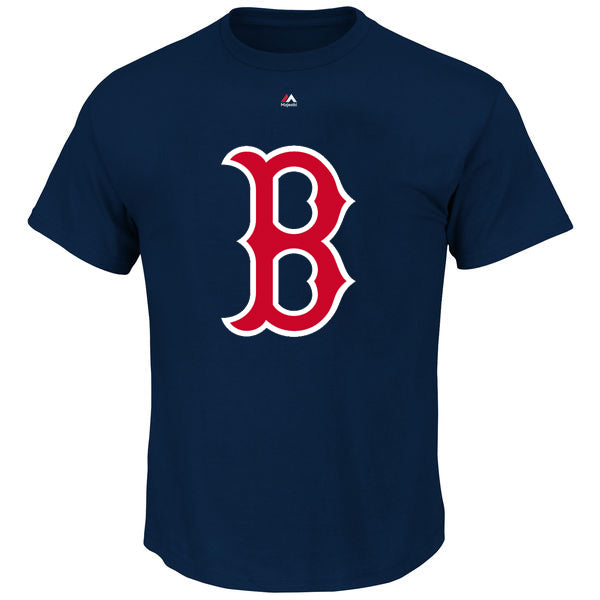 Majestic MLB Men's Boston Red Sox Official Logo T-Shirt