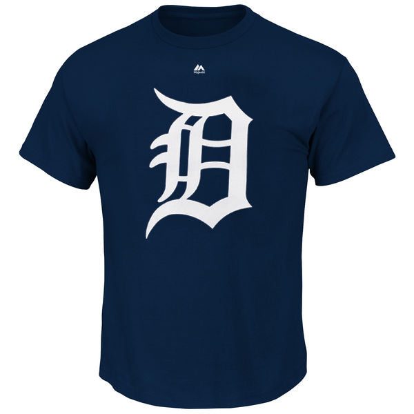 Majestic MLB Men's Detroit Tigers Official Logo T-Shirt