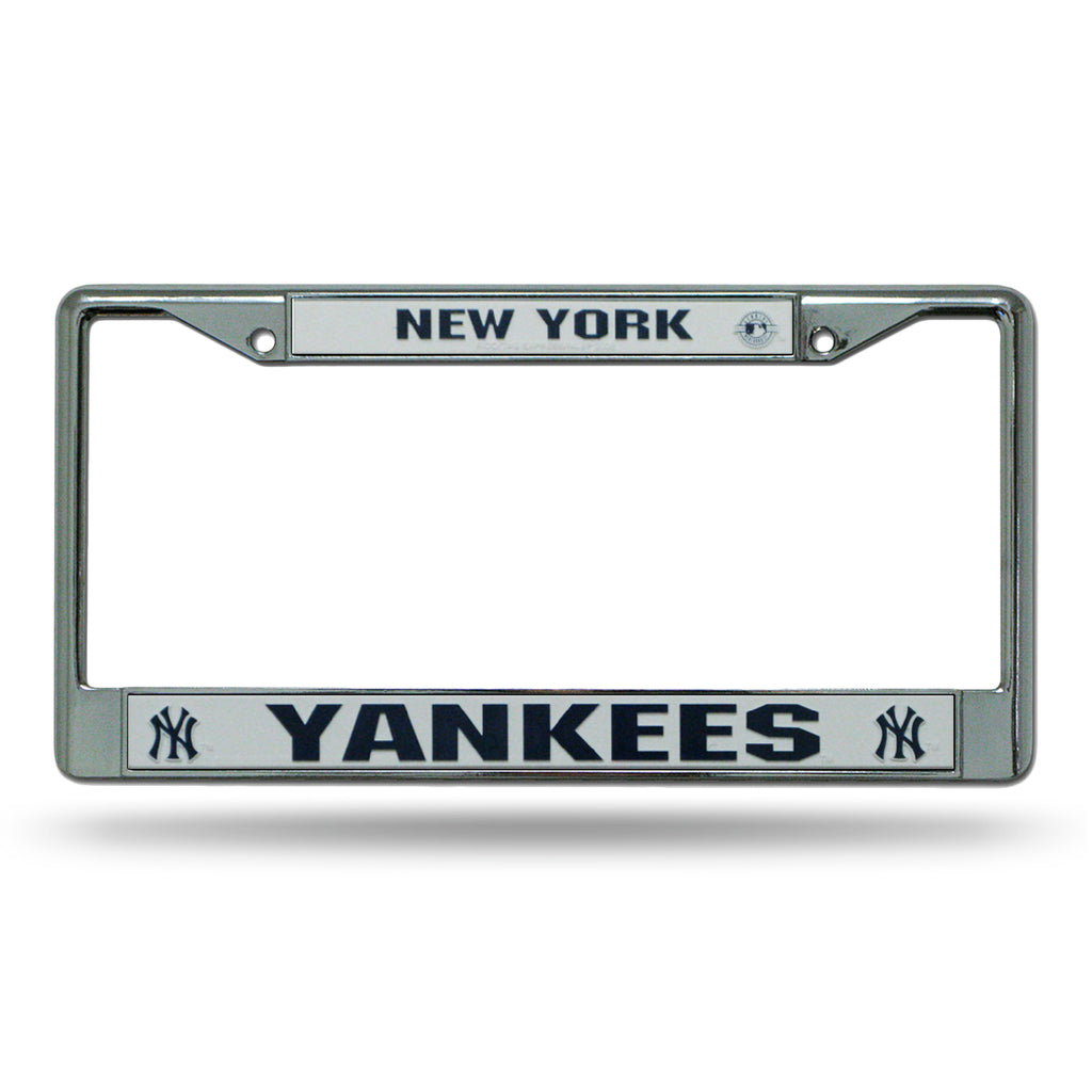 Rico MLB New York Yankees Auto Tag Chrome Frame FC