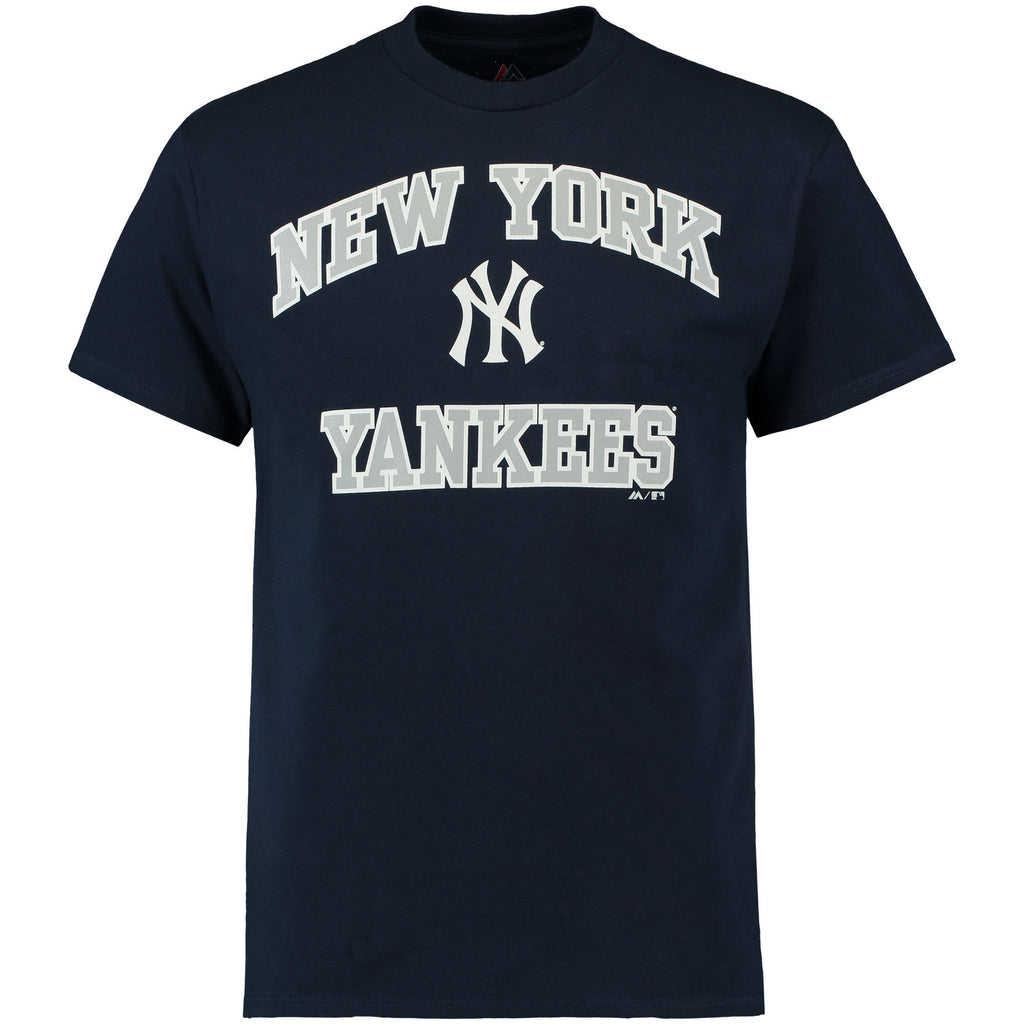 Majestic MLB Men's New York Yankees Heart And Soul III T-Shirt