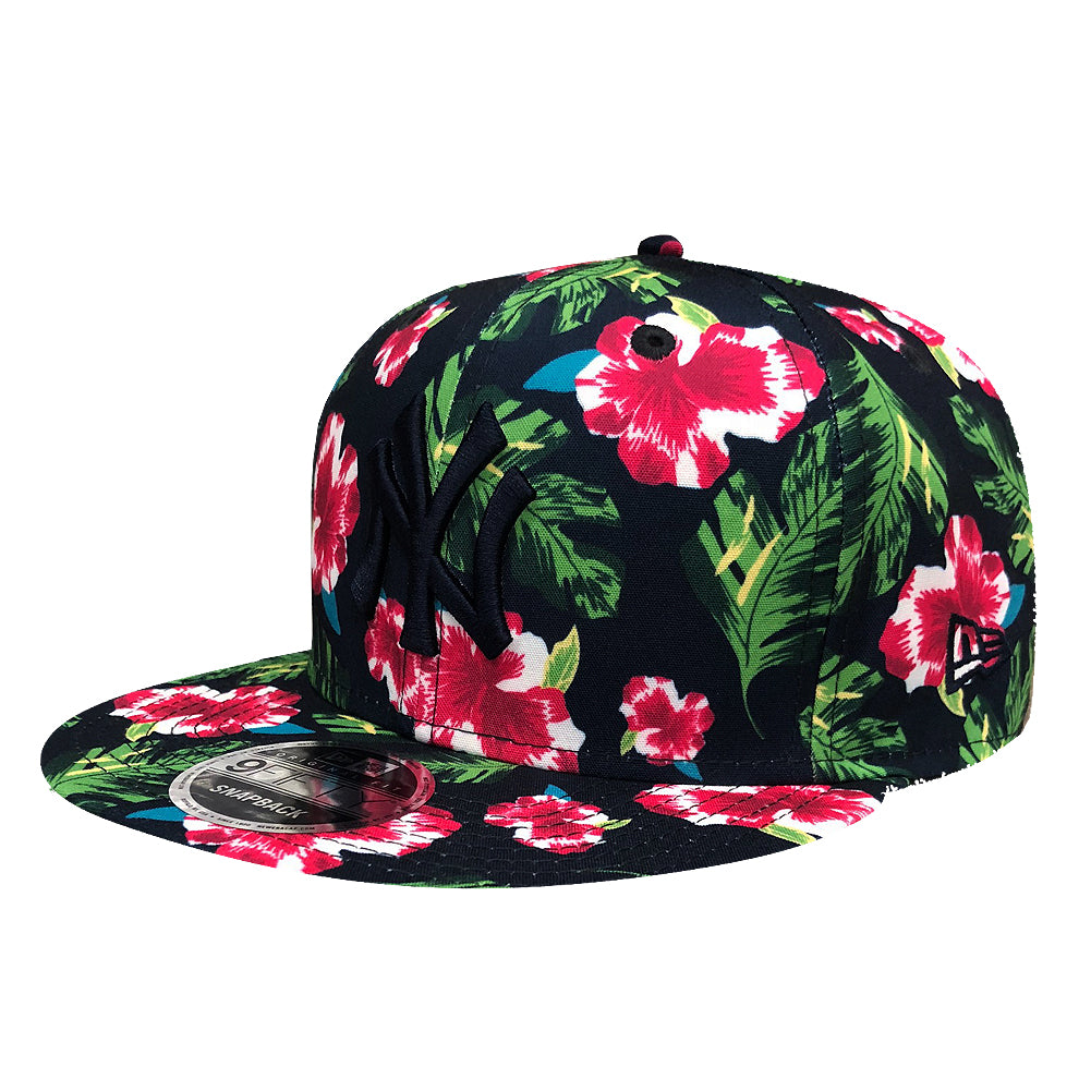 249d707f6649d New Era MLB Men s New York Yankees Floral 9FIFTY Adjustable Snapback ...