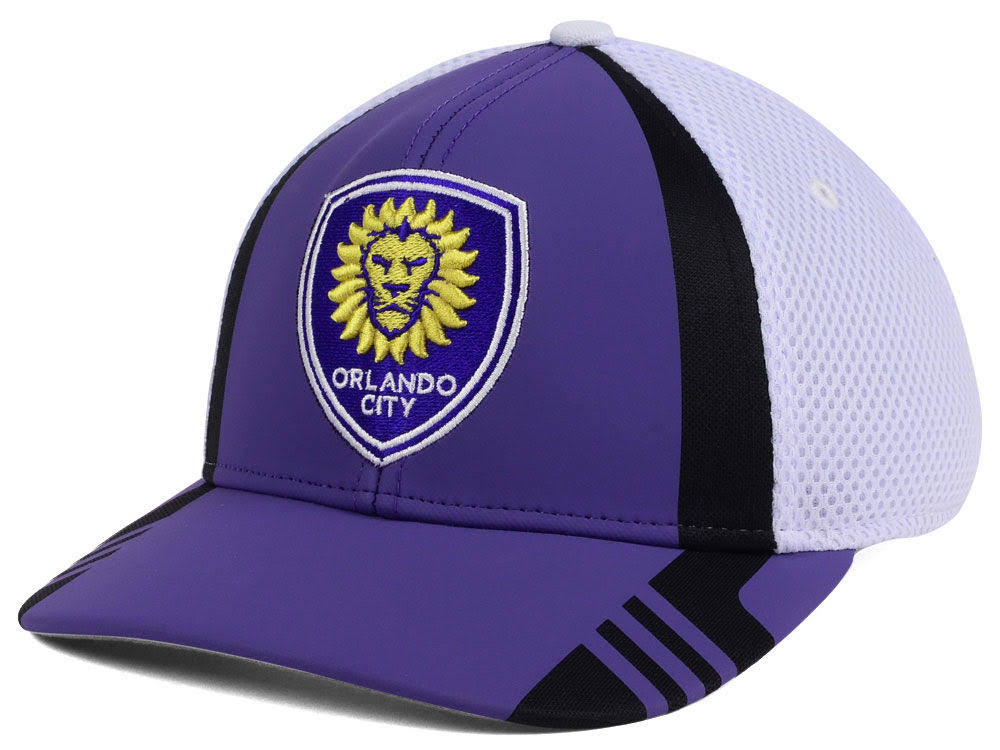Adidas MLS Orlando City Soccer Club Team Flex Hat 2018
