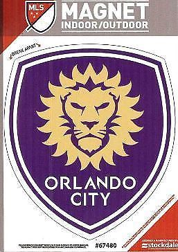 Stockdale MLS Orlando City Soccer Club Vinyl Magnet 3""