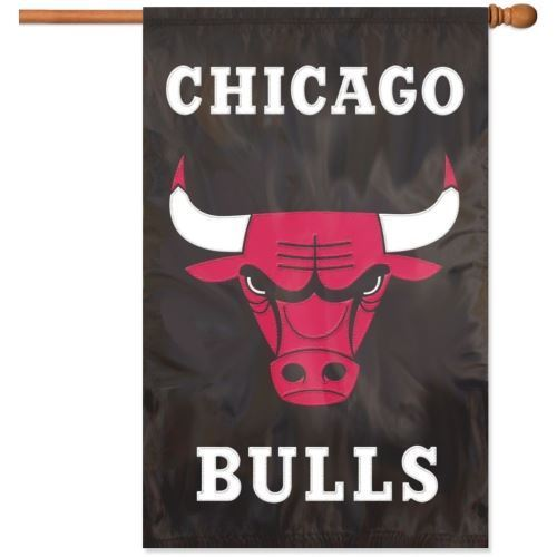 "Party Animal NBA Chicago Bulls 28"" x 44"" House Banner Flag"