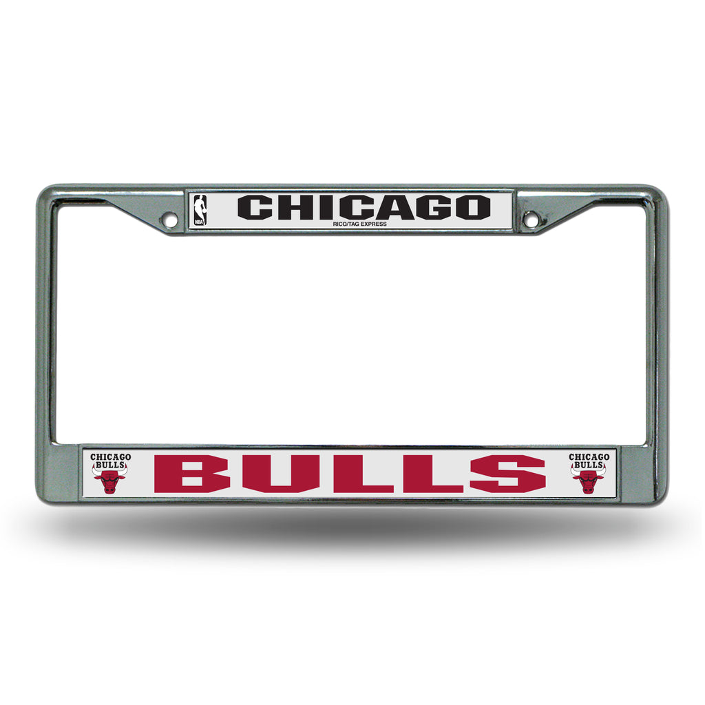 Rico NBA Chicago Bulls Auto Tag Chrome Frame FC