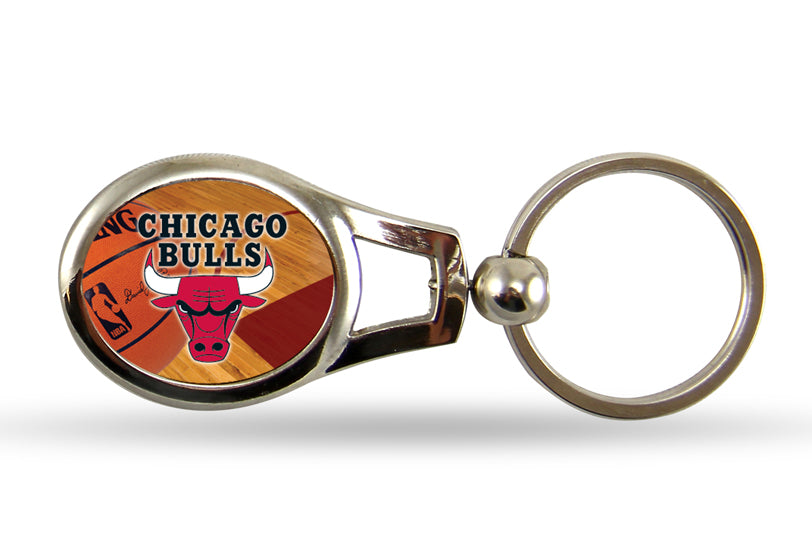 Rico NBA Chicago Bulls Oval Key Chain