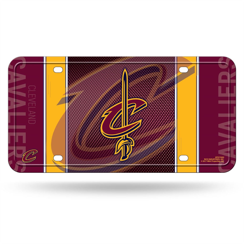 Rico NBA Cleveland Cavaliers Auto Metal Tag Car License Plate MTG03
