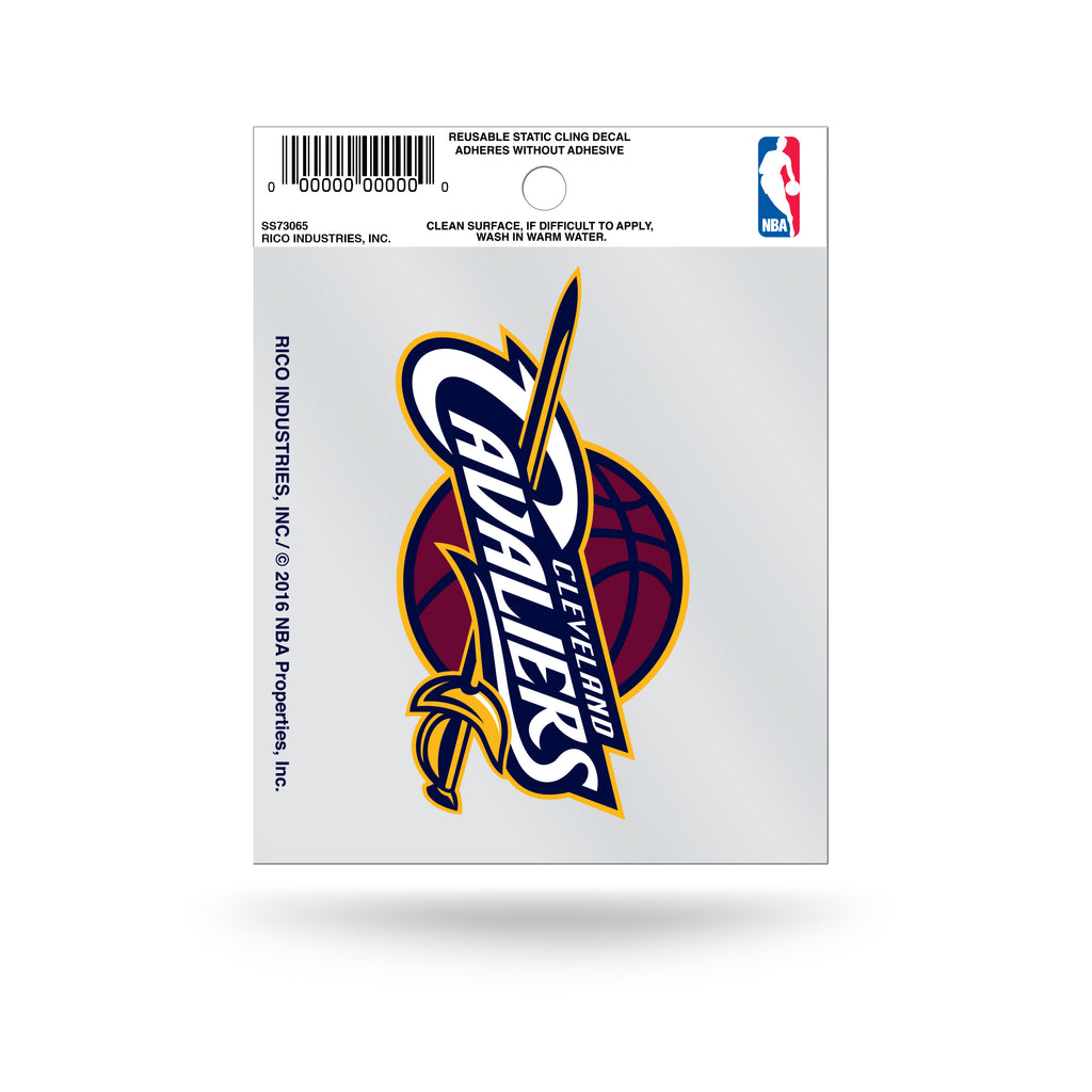 Rico NBA Cleveland Cavaliers Logo Static Cling Auto Decal Car Sticker Small SS