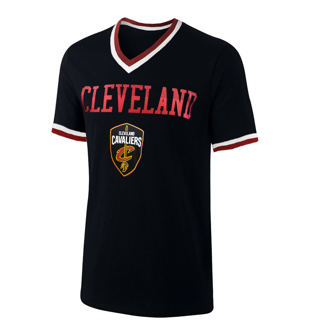 UNK NBA Men's Cleveland Cavaliers V-Neck T-Shirt