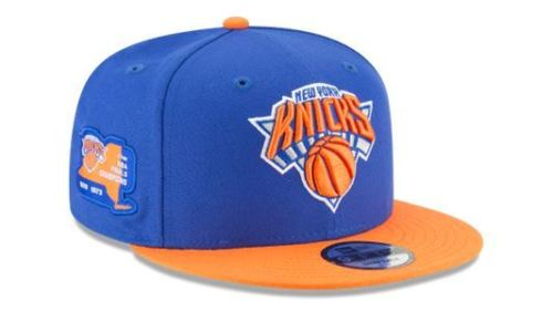 brand new 9d5c5 73c7c New Era NBA Men s New York Knicks Side Stated 9FIFTY Adjustable Snapback Hat