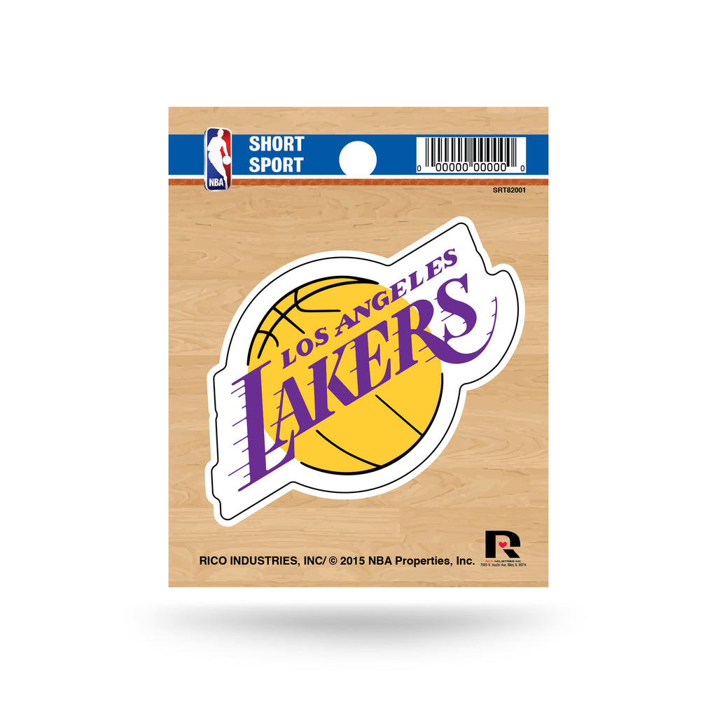 Rico NBA Los Angeles Lakers Die Cut Auto Decal Car Sticker Small SRT
