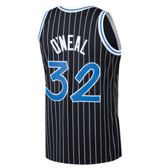 867a4deed76 Mitchell   Ness NBA  32 Shaquille O Neal Men s Orlando Magic Hardwood  Classic Swingman ...
