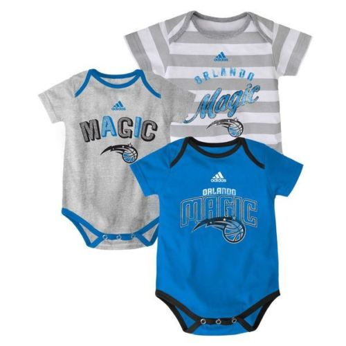 Adidas NBA Infant Orlando Magic 3 Point Play Bodysuit Set