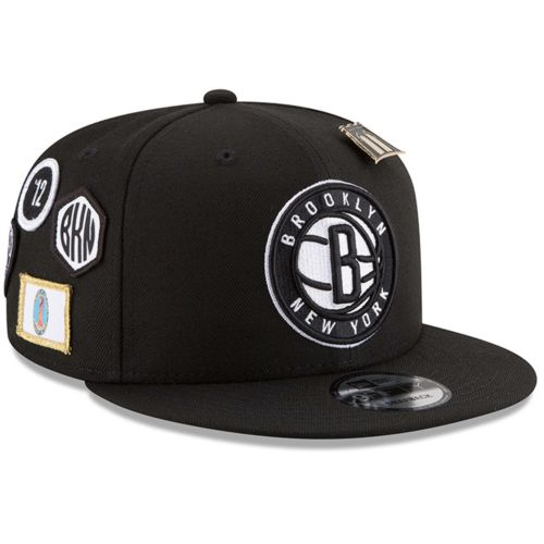 New Era NBA Men's Brooklyn Nets 2018 NBA Draft Hat 9FIFTY Snapback Adjustable Hat