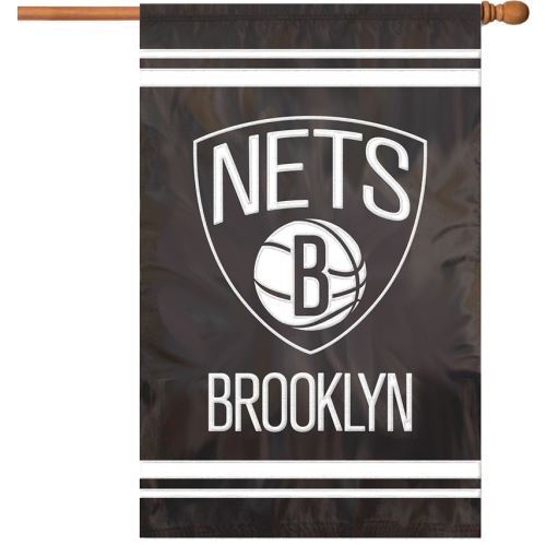 "Party Animal NBA Brooklyn Nets 28"" x 44"" House Banner Flag"