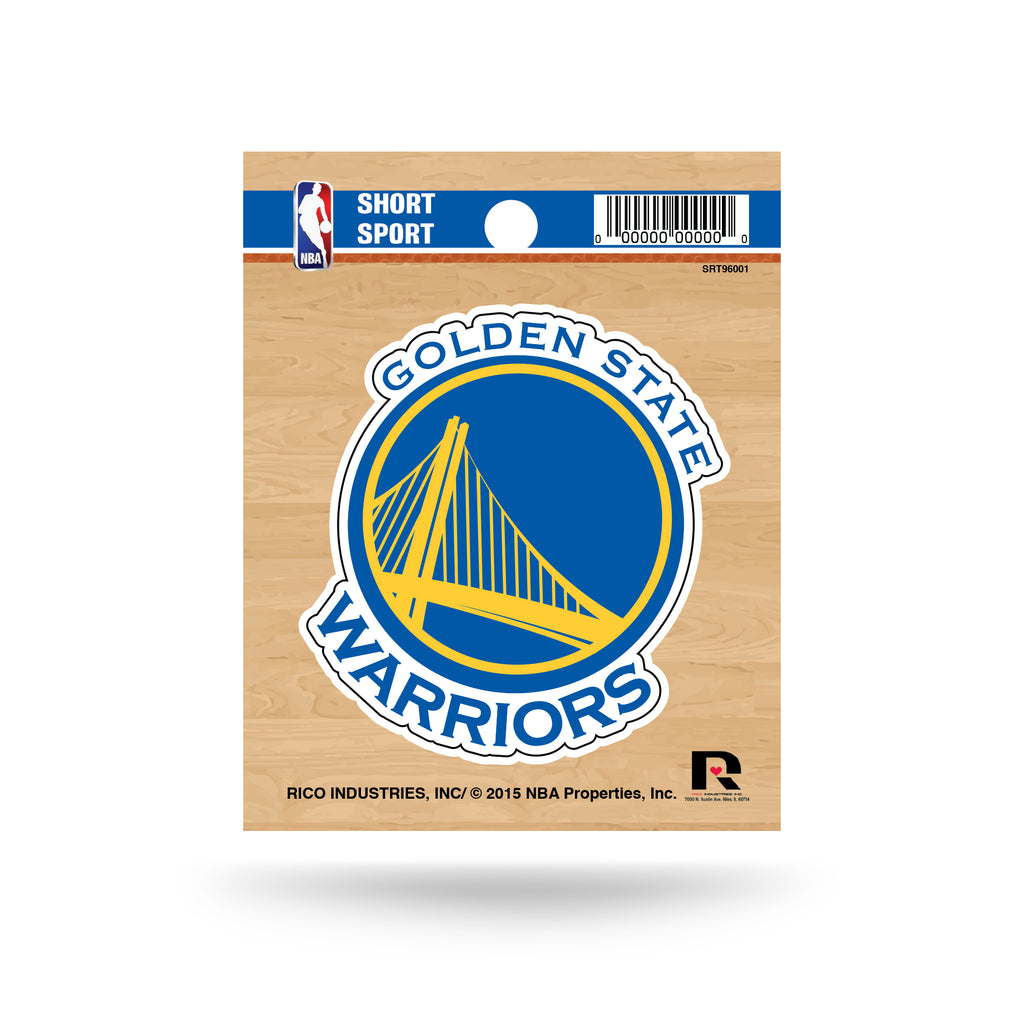 Rico NBA Golden State Warriors Die Cut Auto Decal Car Sticker Small SRT